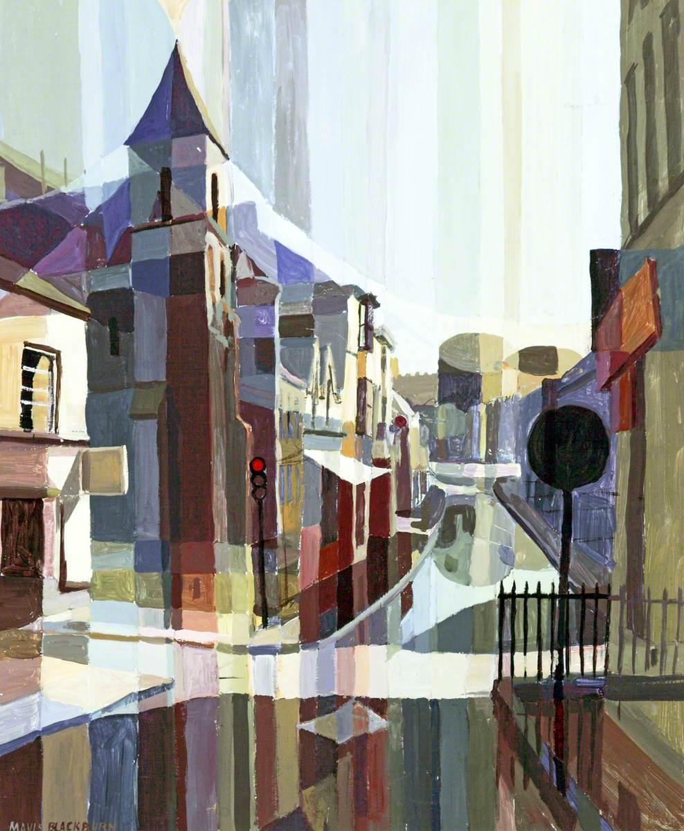 Mavis Blackburn - Castle Street, Conway